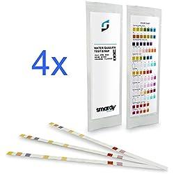 SMARDY® 12x 13 IN 1 Ultra Wassertest Set für Trinkwasser - Aquarium schnelltest - einfache Überprüfung der Wasserqualität