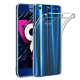 Amonke Honor 9 Hülle Handyhülle Für Huawei Honor 9 - Ultra Dünn Crystal Clear TPU Transparent Case, Soft Flexibel Silikon Durchsichtige Schutzhülle Für Huawei Honor 9