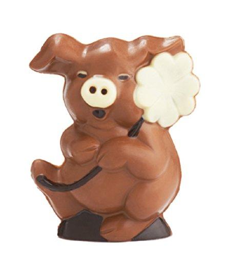 02#081519 Schokolade Glücksschwein, Muttertag, Schwein, Taufe, Geburt, Tortenverzierung, Hochzeit, Torte\'
