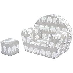 9fdeb9f2d Sillón silla para niños MoMika   Sofá Taburete de asiento para niños    Asientos de sofá