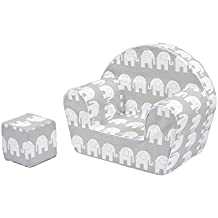 Sillón silla para niños MoMika | Sofá Taburete de asiento para niños | Asientos de sofá