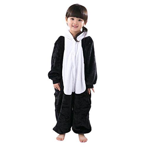 Hstyle Mädchen, Jungen Cosplay Kostüme Einteilige Schlafanzüge Jumpsuits Halloween Fancy Kleider Panda