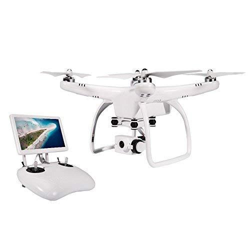 UPair One Drone quadricottero con videocamera 2,7K Full-HD, con radiocomando da 2.4GHz, volo FPV, trasmissione in diretta, Headless Mode, controllo dell\'altitudine, ritorno a casa