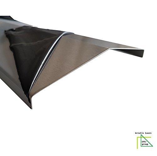 kreati bauen hôte Acier Inoxydable K240 Aroma Rail de distribution Grande sélection Barbecue à gaz flamme flamme Tôle 0,8 mm V2 A Länge: 39cm/Breite 15cm