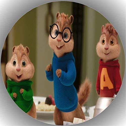 Fondant Tortenaufleger Tortenbild Geburtstag Alvin und die Chipmunks T17