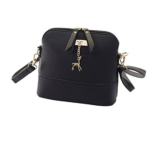women-handbag-rcool-small-shell-pu-leather-messenger-bag-with-deer-pendant-black