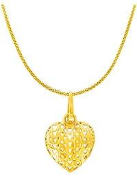 RSBL 22KT Yellow Gold Pendant for Women