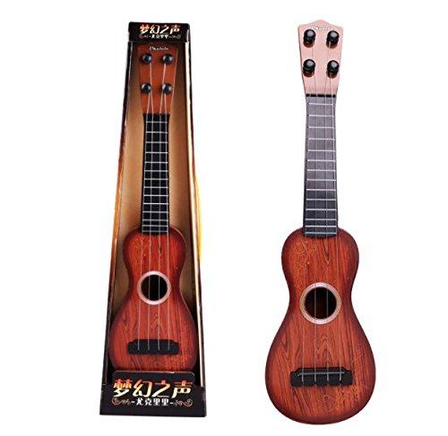 AOKDOOR Children's Premium Toy Simulation Ukulele Small Guitar Can Play soprano wooden ukulele string instruments
