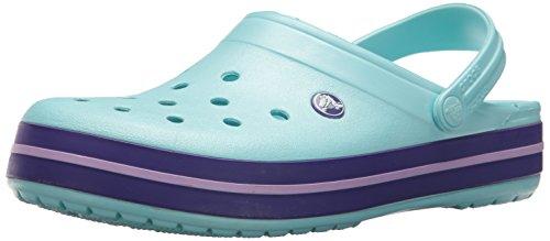 crocs Unisex-Erwachsene Crocband Clogs, Blau (Ice Blue), 41/42 EU