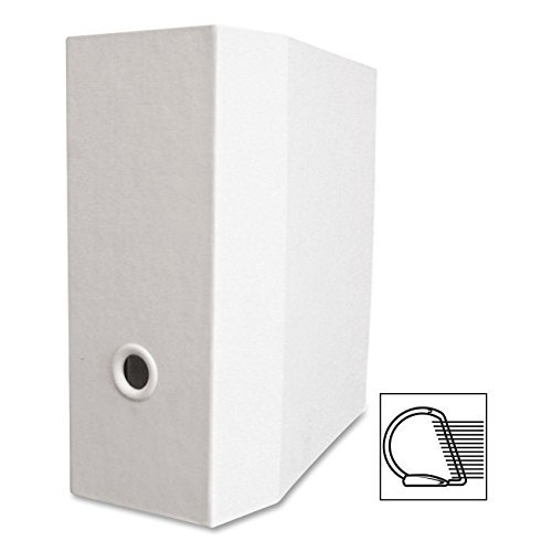 Aurora Products AUA09426 Ultra Storage Binder, 3-Ring, 5 in. Cap., White by Aurora Products and General Bo