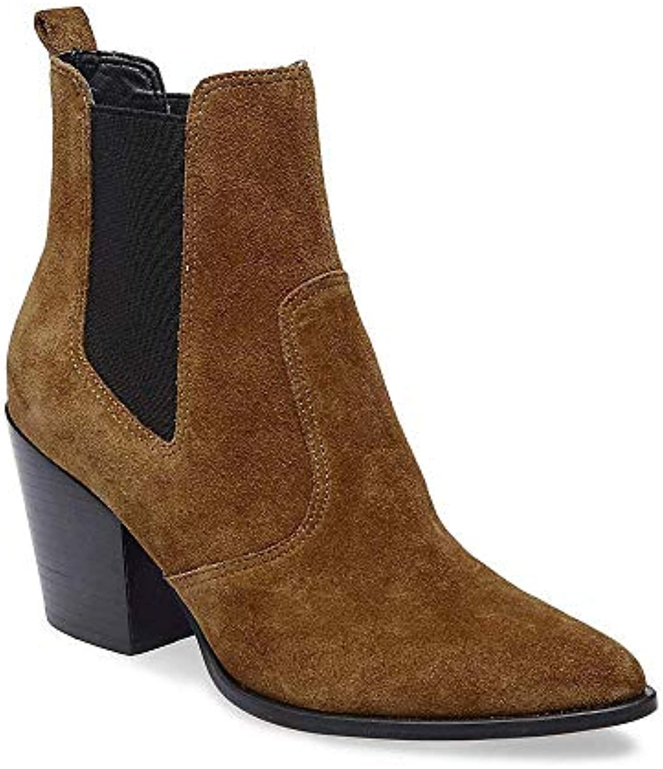 Steve Madden Femme's Patricia Casual Chestnut Suede Bootie Casual Patricia 10.0 USB07G5HJ3QLParent 2bcf06