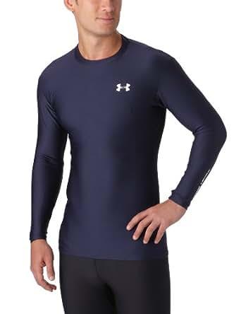 Under Armour Herren Sweat Shirt Eu Evo Coldgear Crew Ii,blau (410), XXL