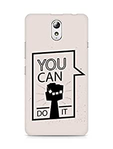 Amez You can Do It! Back Cover For Lenovo Vibe P1M