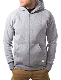 urban ace   Zip Hoodie, Sweatjacke, Pullover-Jacke   Herren, Unisex   für  Fitness und Freizeit   grau oder schwarz  … cb87bf84ee