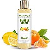 Bagnoschiuma   100% Naturale - 76% Biologico   Mandarino e Limone   Perfetto per Neonati, Bambini e Adulti