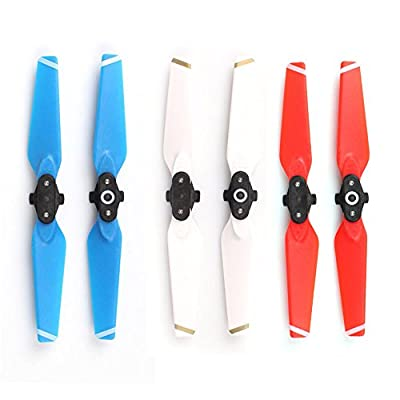 Kingwon Colour Quick-release Folding Propellers CW CCW Prop Blades for DJI Spark Drone Accessories
