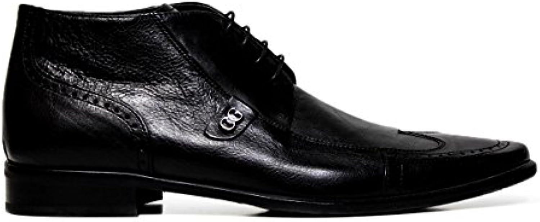 Cristiano Cristiano Cristiano Gualtieri uomo scarpe eleganti stringate 267 FOX NERO   Shop  1049ab