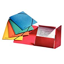 Esselte Rainbow 3-Flap Folder, A4, Assorted colours, Pack of 5, 15523