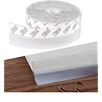 AIWANTO Self-adhesive Door Seal Strip Thermal and Sound-proof Adhesive Strip for Door Window Seam Windproof Anti-theft Silicone Weather Stripping Sealstrip Sticking at Door Bottom