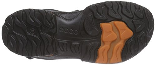 Ecco Ecco Biom Sandal, Sandales ouvertes garçon Gris - Grau (DARK SHADOW/BLACK56357)