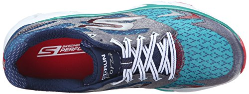 Skechers Go Run Forza, Baskets Basses femme Navy/Teal