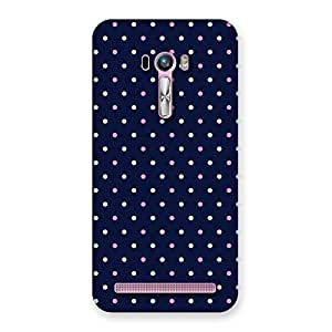 Cute Colorful Dots Prints Back Case Cover for Zenfone Selfie