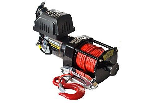 Warrior ww20spa12ATV/UTV Quad eléctrica Cabestrante Ninja 2000lb a 907kg 12V plástico Cuerda
