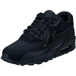Nike Air Max 90 Essential, Baskets Basses Homme, Noir (Black), 44 EU