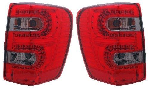 Jeep Grand Cherokee 99-04LED Rücklicht Rot/Smoke New von Eagle Eye Lights - Eye Eagle Lights