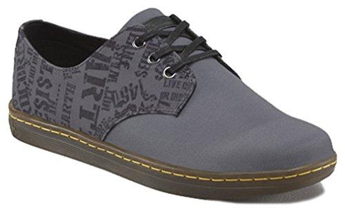 Dr. Martens, Sneaker Uomo Grigio Grau, Grigio (Grau), 46 EU