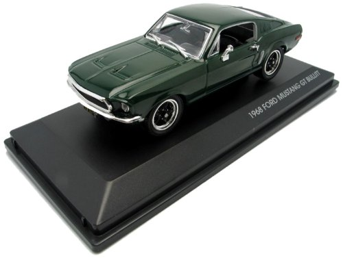 Yat Ming Bullitt Diecast Modell 1/43 1968 Ford Mustang GT -