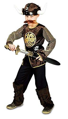 Körner Festartikel Wikinger Ragnar Kostüm für Kinder Gr. 116