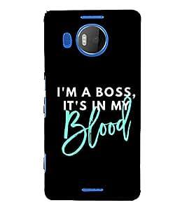 PrintVisa Attitude Man Men 3D Hard Polycarbonate Designer Back Case Cover for Microsoft Lumia 950 XL :: Microsoft Lumia 950 XL Dual SIM