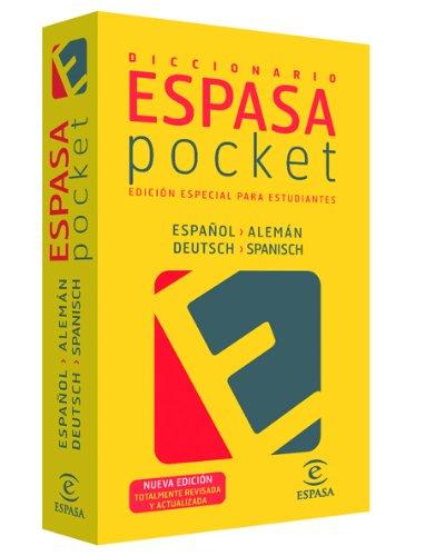 Diccionario pocket español- alemán (IDIOMAS) por AA. VV.