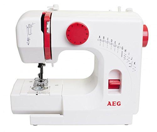 Mini Nähmaschine AEG NM100 –  11 Nähprogramme - 2