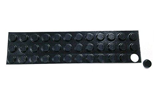 bulk-hardware-bh01904-100-mm-auto-adhesivo-de-la-almohadilla-de-goma-redonda-negro-paquete-de-35