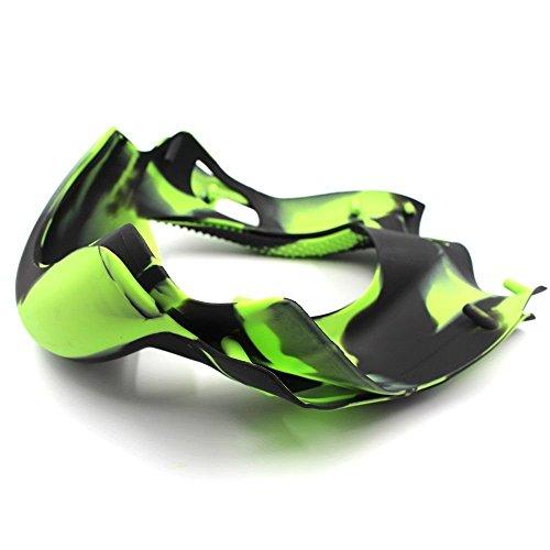 Wisamic Silikon Schutzhülle grün für 6,5 Zoll Smart Self Balancing Elektro Scooter Hoverboard - 3