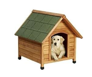 Terrasse pour niche chien bois CANADA