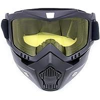 Freeday Vollständig gerahmter Maske Skifahren Gläser einen.Kreislauf.durchmachenglas windundurchlässige Brille Breath Brille Abnehmbare Maske für Outdoor-Sportarten