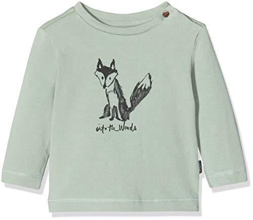 Noppies Baby-Jungen B Tee Regular ls Altus T-Shirt, Grün (Green Milieu P221), (Herstellergröße: 56)