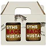 Syms Pantry Double Dijon Mustard Pack - A great gift for mustard lovers (2x 280g jars)
