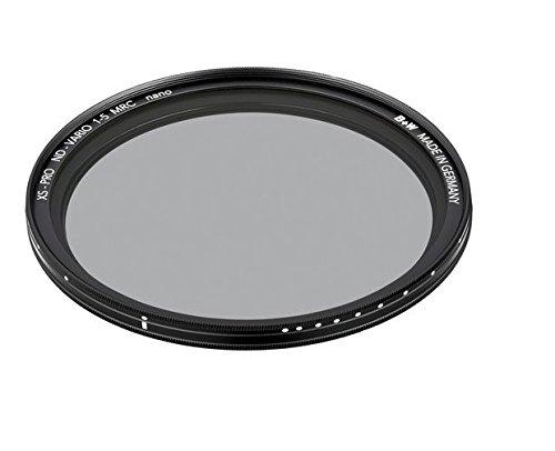 B+W Graufilter ND vario/variabel ND2-32 (72mm, MRC nano, XS-Pro, 16x vergütet, Premium)