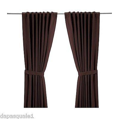 IKEA tandrot–Juego de 2cortinas (longitud: 165cm (57