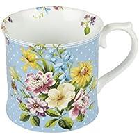 Katie Alice ''English Garden Blue'' Tankard Mug