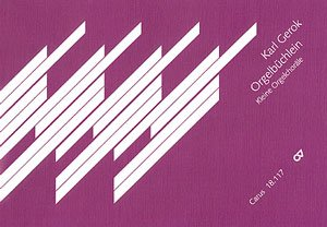 GEROK: ORGELBUCHLEIN  KLEINE ORGELCHORäLE   ORGAN   BOOK