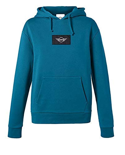 Mini Original Logo Patch Sweatshirt Women's Damen Island/blau Pullover Kollektion 2018/2020 - Größe S Mini Womens Sweatshirt