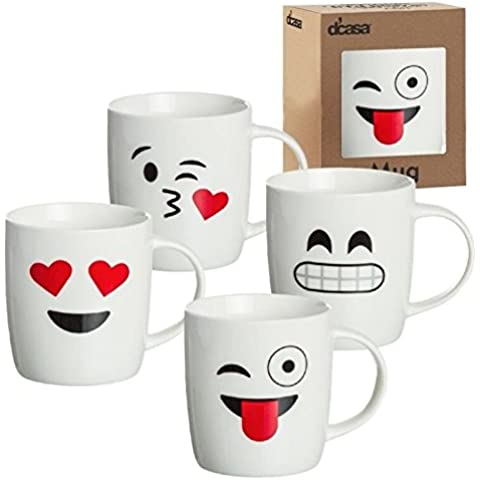 Tazas originales EMOTICONOS de color