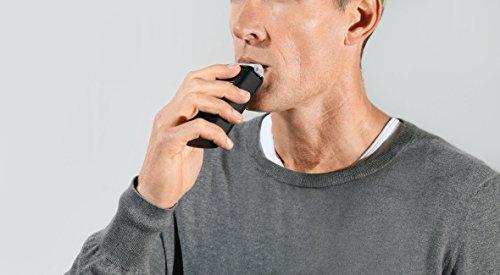 Dräger 3820 Alcoholímetro Digital Controlador y Probador de Alcohol como lo Hace la Policía, Etilómetro para una Conducción Fiable y Segura, con Boquillas de Recambio