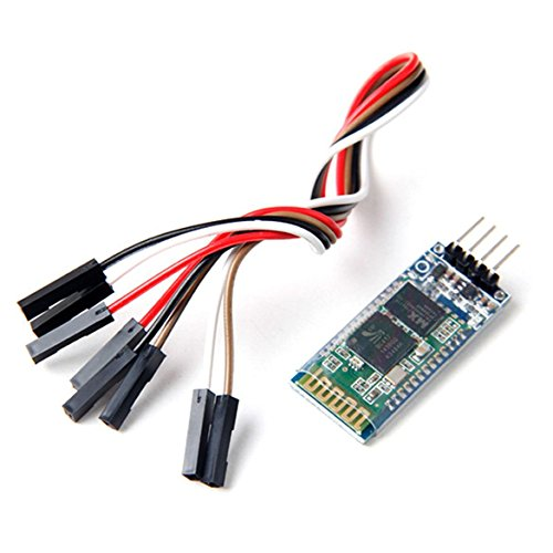 Neuftech HC-06 Serial Wireless 4 Pin Bluetooth RF Transceiver Module RS232 für Arduino