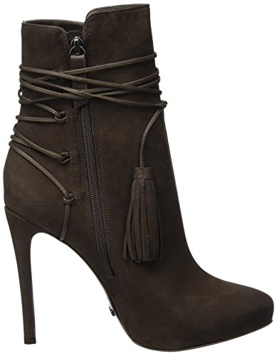 Schutz Damen Back Laced Up Kurzschaft Stiefel Braun (HOT COFFEE)